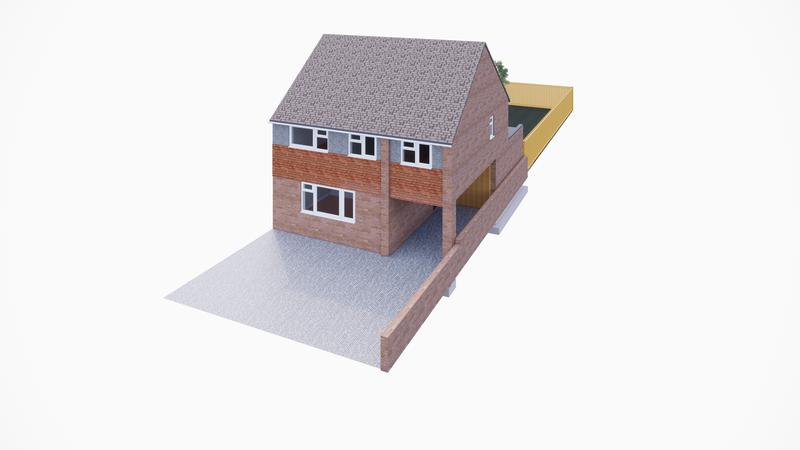 Image 1 - House Extension Proposed in Kemsing