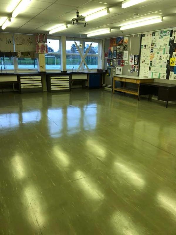 Image 2 - Classroom Floor Clearance