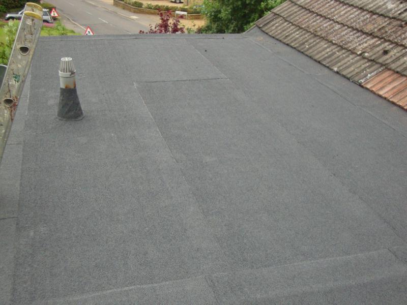 Image 4 - Re-felt flat roof-Moulton
