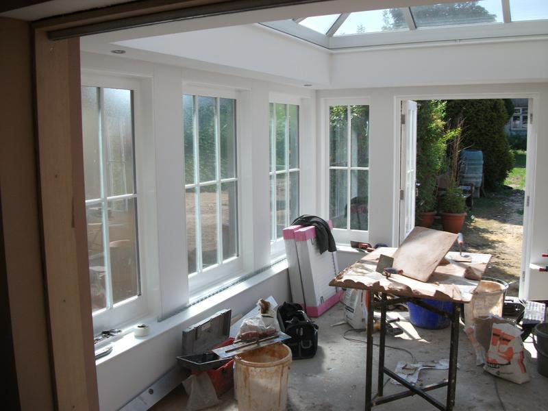 Image 8 - Inside the hand built conservatory see more at www.bdc-construction.co.uk