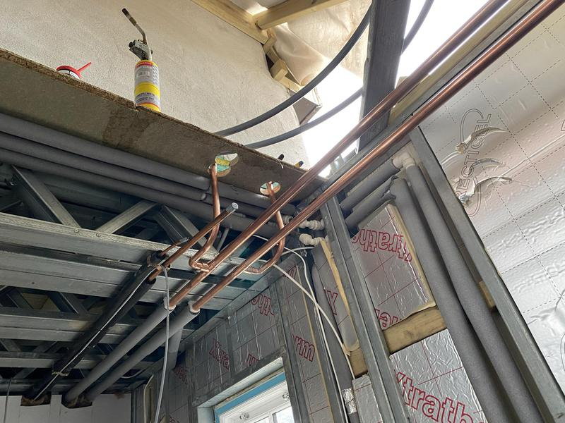 Image 14 - First fix plumbing. Plumbing with distinction