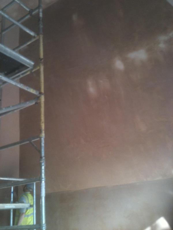 Image 7 - Damp proofed walls.