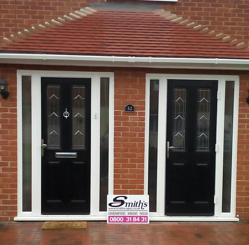 Image 26 - Double porch for customers in Enfield