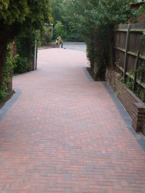 Image 16 - Block paving path