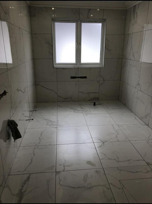 Image 22 - Marble tile installation