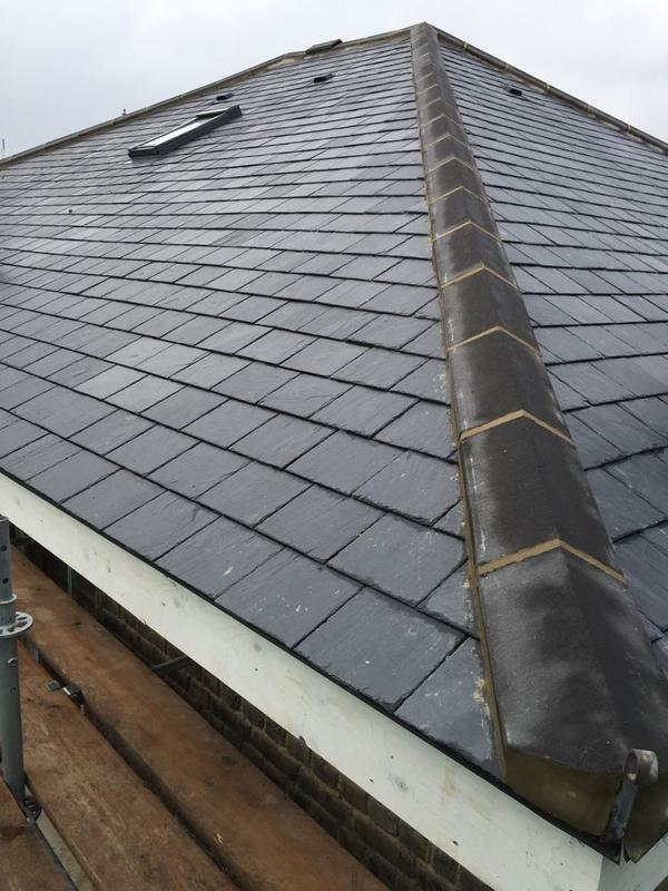 Image 41 - Re-Roof Using Natural Spanish Slates - West Hampstead, London