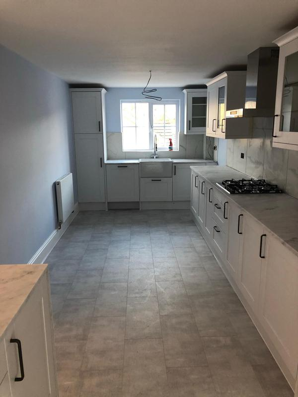 Image 50 - New floor and New kitchen Installation with Quarts worktop