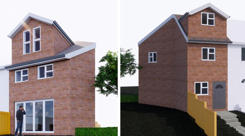 Image 3 - New Built Semi Detached House Proposed in Mottingham, London