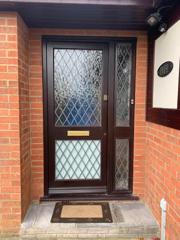 Image 9 - Before - Old Back Door