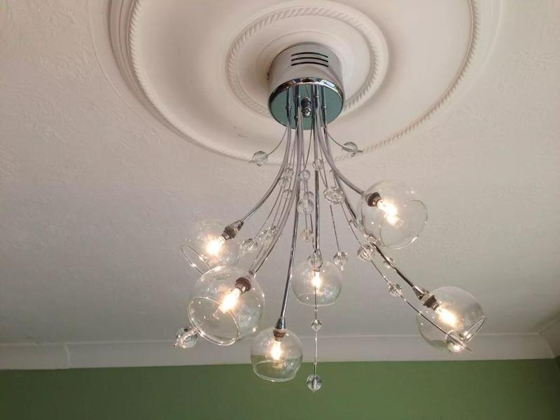 Image 45 - customers own light fitting stevenage
