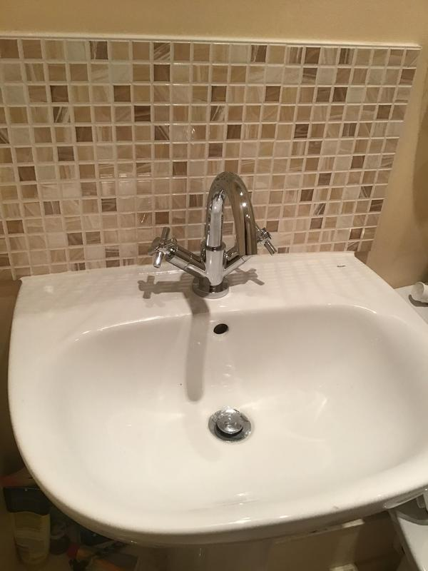 Image 13 - New taps installed.