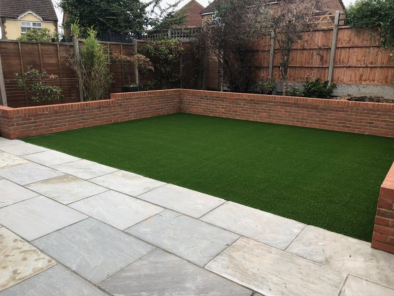 Image 2 - Artificial Lawn Installation in Stevenage, Hertfordshire.