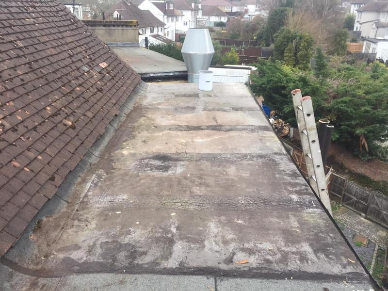 Image 6 - Before / flat roof