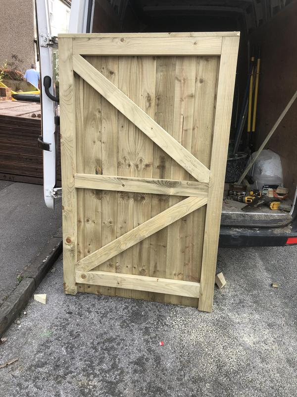 Image 15 - Bespoke hand made gate to measure
