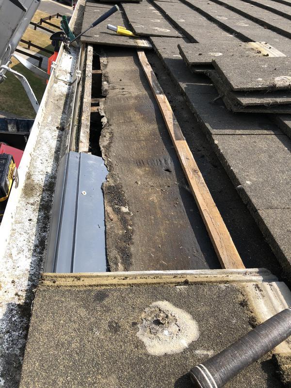 Image 13 - Roofing felt repairs