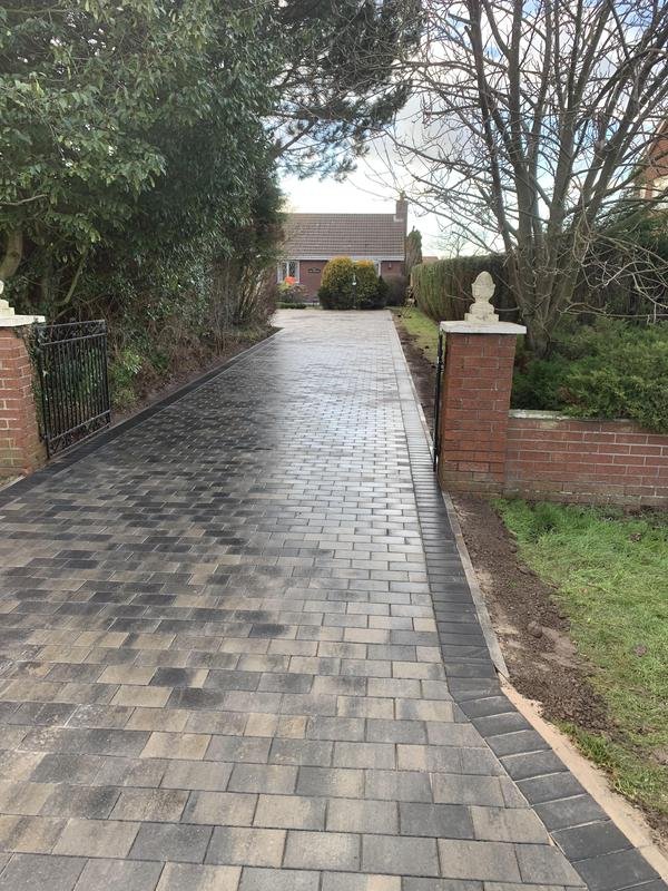 Image 6 - New driveway after