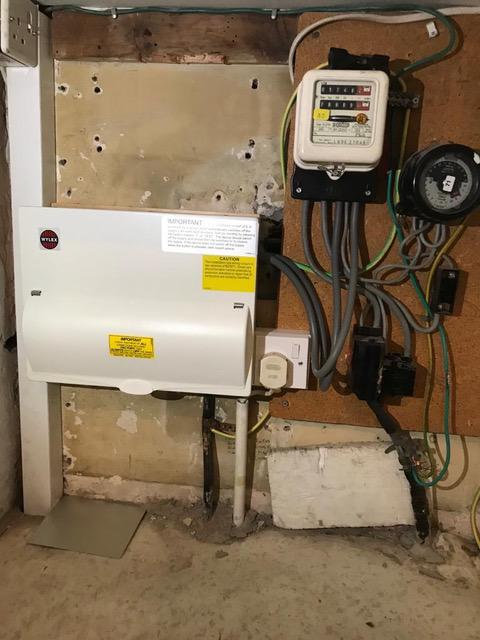 Image 1 - Post Fuse Board installation and tidy up