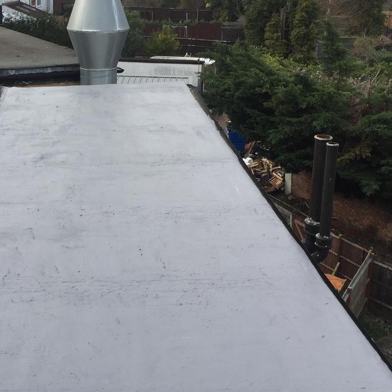 Image 5 - After / resealed flat roof