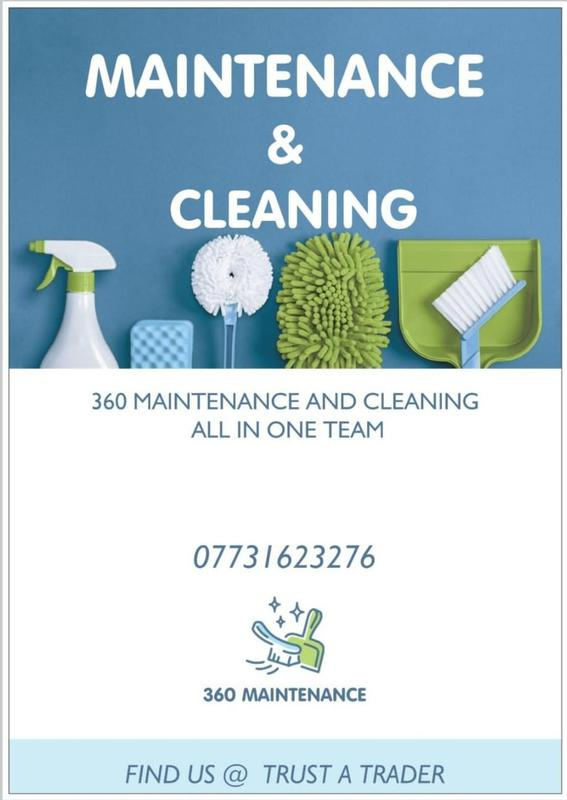 360 Domestic Maintenance and Cleaning logo