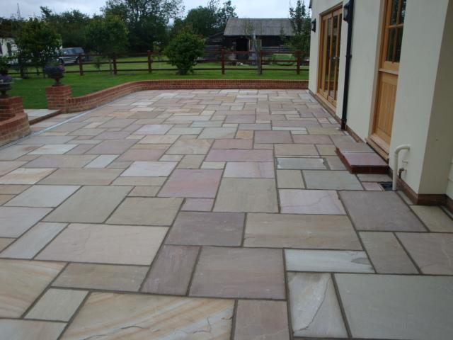 Image 13 - Natural stone patio