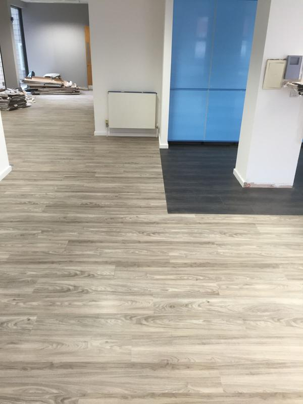 Image 39 - Supply & Fit LVT Contract for an office Hall