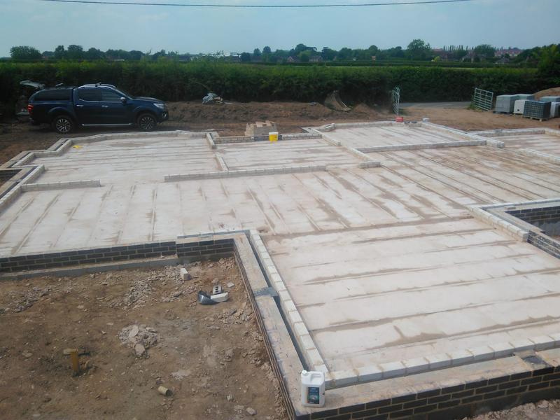 Image 22 - New Build Foundation