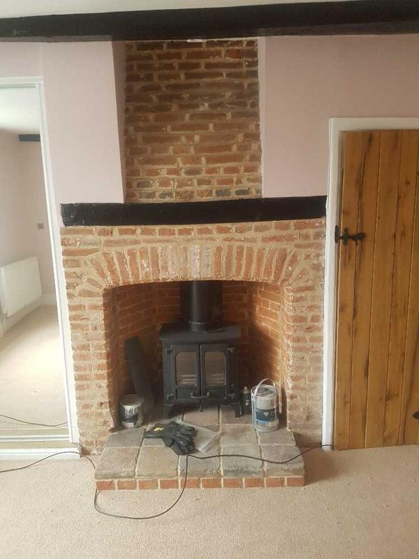 """Image 49 - Part of the renovation of """"the star"""" in fakenham by s1 builders norfolk"""