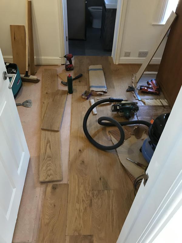 Image 1 - Engendered flooring/ applying floor boards by flooring screws and glue process