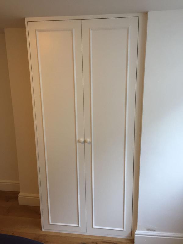 Image 15 - Single wardrobe, when then painted it