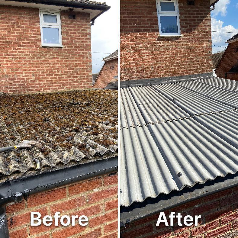 Image 7 - Renew corrugated sheeting.