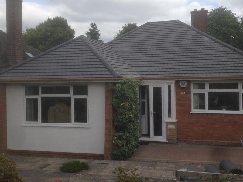 Image 153 - Photos of this bungalow has sold many other roofs to various customers to be honest, because of how lovely the overall picture looks with the smooth grey small tile, any questions please ask us.