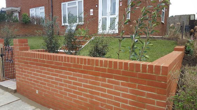 Image 56 - completed sandstone steps new brickwork landscaping