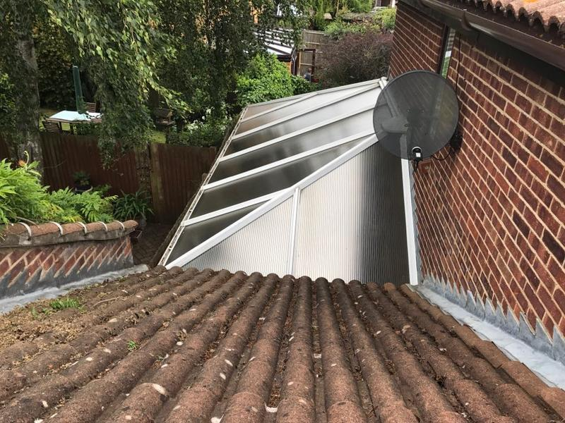 Image 15 - Conservatory roof clean
