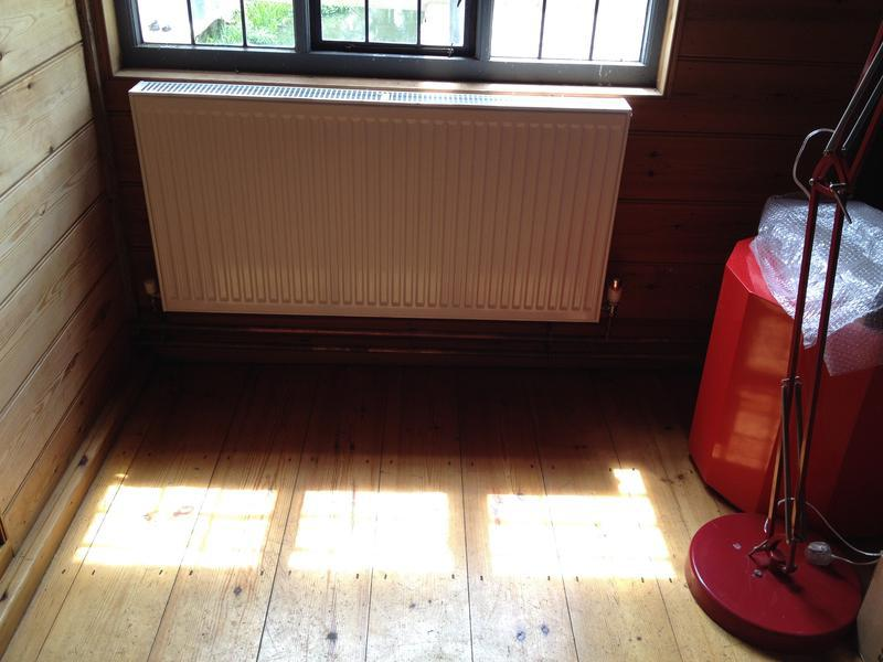 Image 33 - New heating installation in mill offices