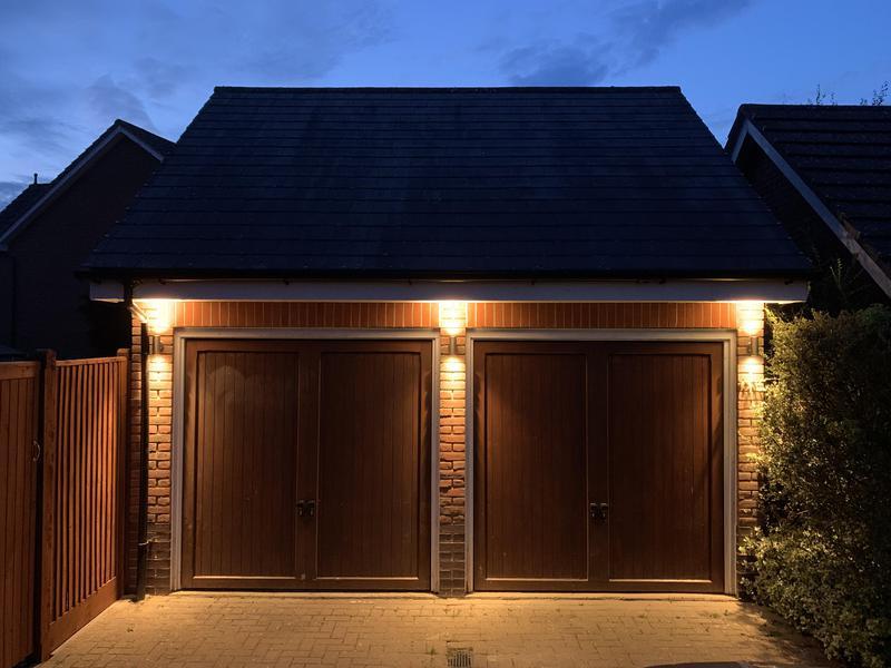 Image 2 - Garage lighting with wireless switching