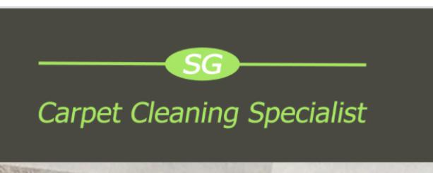 SG Carpet Cleaning Specialist logo