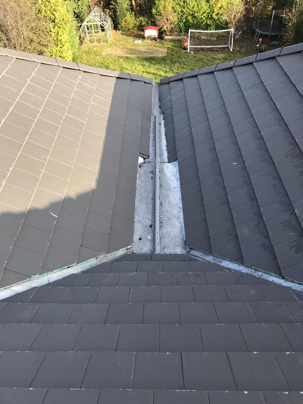 Image 37 - New lead valleys on new reroof
