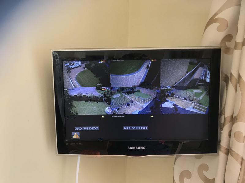 Image 62 - HD security cctv turret camera installation