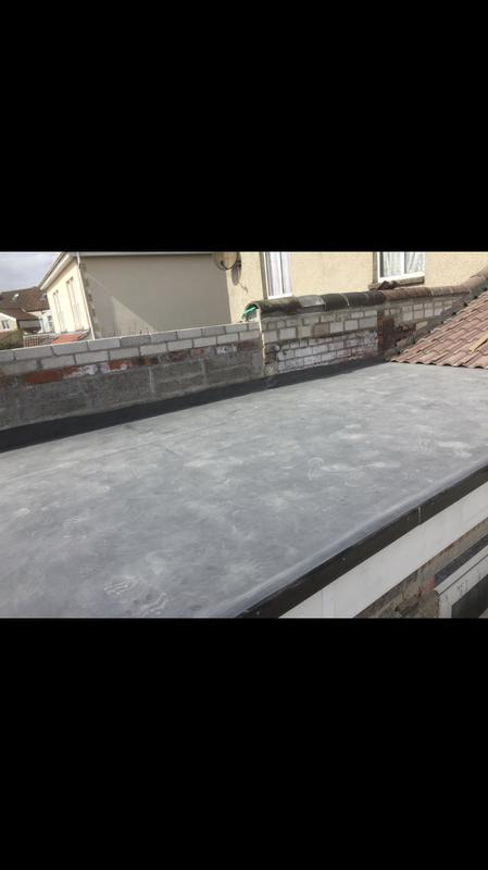 Image 24 - New EPDM roof in Bristol