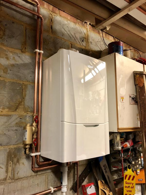 Image 23 - After. Welling job. Supply and fit new Ideal Vogue system boiler *12 years warranty*