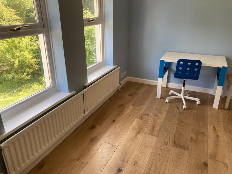 Image 29 - New oak flooring, new skirting and all decorating