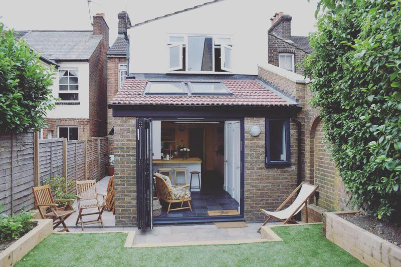Image 22 - Single storey rear extension to this Victorian end of terrace house in St.Albans.