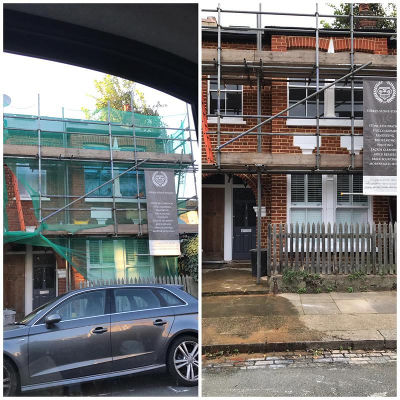 Image 7 - Full brick clean and repoint using a lime based mortar. Property in Tooting