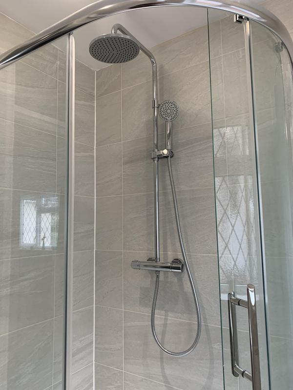 Image 55 - Aqualisa shower. AFTER, Dartford Bathroom fitting