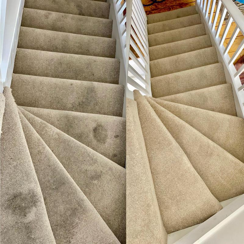 Image 11 - stairs carpet steam cleaning