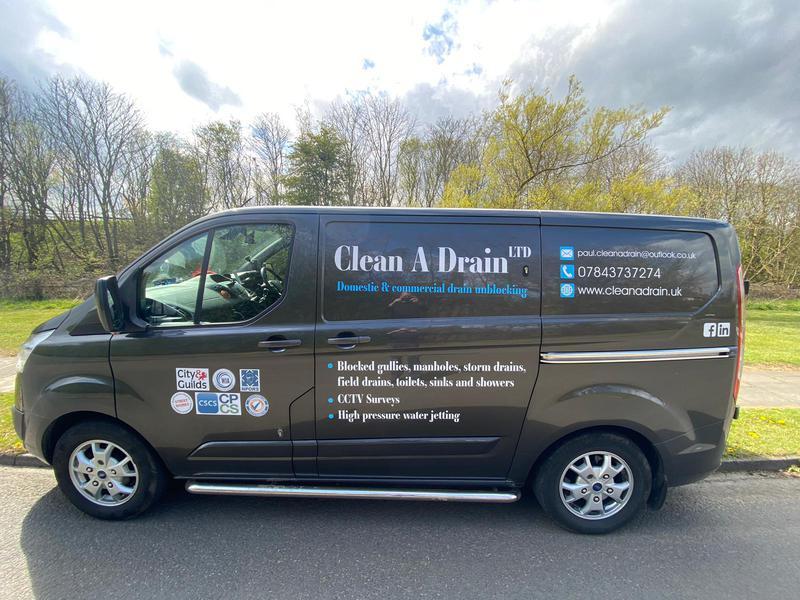 Clean A Drain Ltd logo