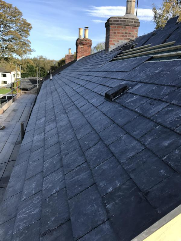 Image 6 - |Slate Roofing done by us|