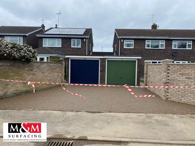 Image 16 - Resin bound driveway completed in Sweet pea