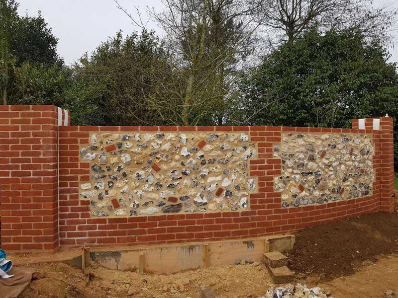 Image 33 - flint walls renovation in bircham by s1 builders norfolk