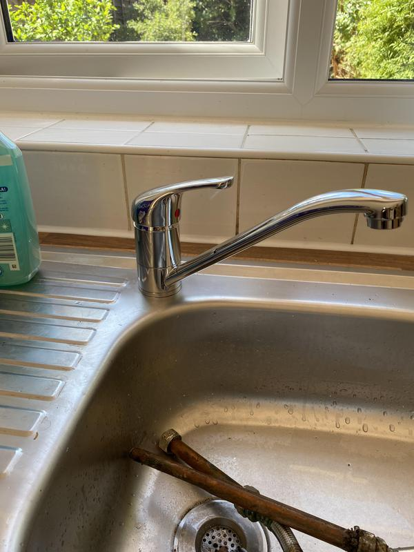 Image 29 - New kitchen tap fitted in Camberwell area.